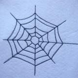 Broderie toile d'araignée