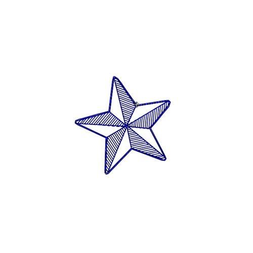 Broderie machine étoile nautique