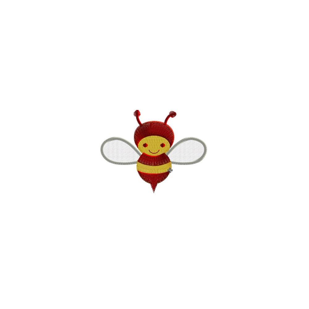 Motif broderie machine abeille