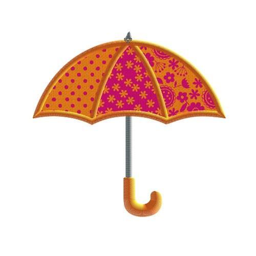 Broderie machine parapluie