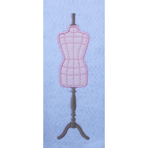 Broderie mannequin couture