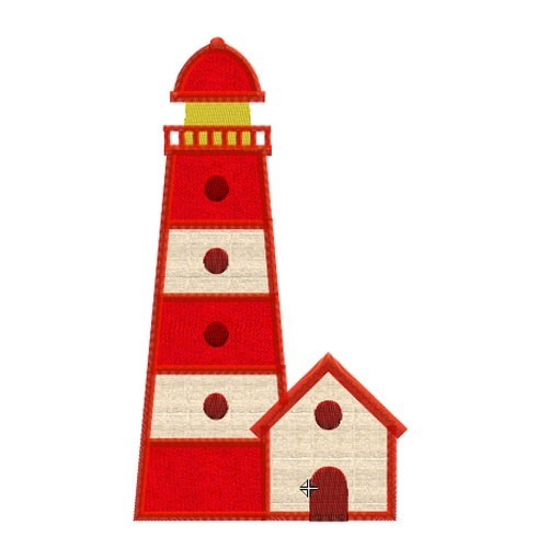 Motif broderie machine phare